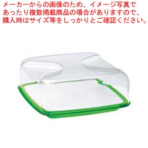 グッチーニ カッティングボード&ドーム 正方形(L)270000 44グリーン 【厨房館】【 オーブンウェア 】