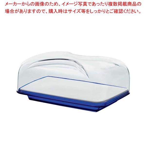 グッチーニ カッティングボード&ドーム 長方形(S)270100 68コバルトブルー 【厨房館】【 オーブンウェア 】