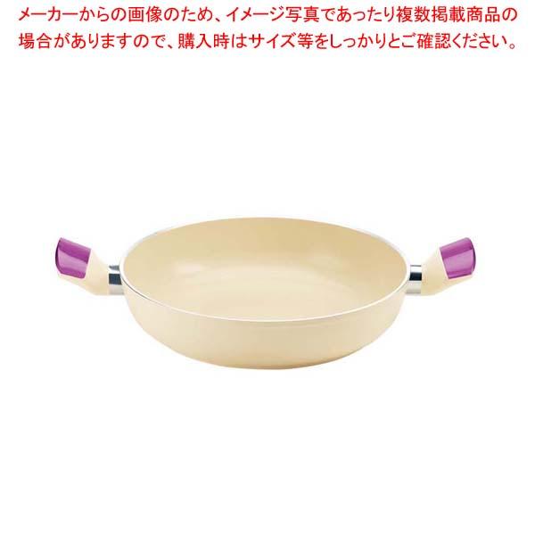 グッチーニ IHキャセロール24cm 228010 01バイオレット 【厨房館】