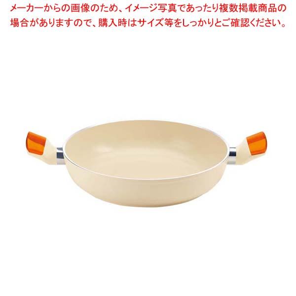 グッチーニ IHキャセロール24cm 228010 45オレンジ 【厨房館】