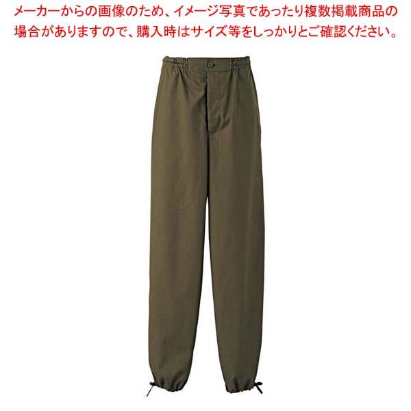 作務衣パンツ EL3378-4(男女兼用)抹茶 3L 【厨房館】ユニフォーム