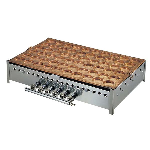 大判焼機 60穴 φ78 【厨房館】お好み焼・たこ焼・鉄板焼関連