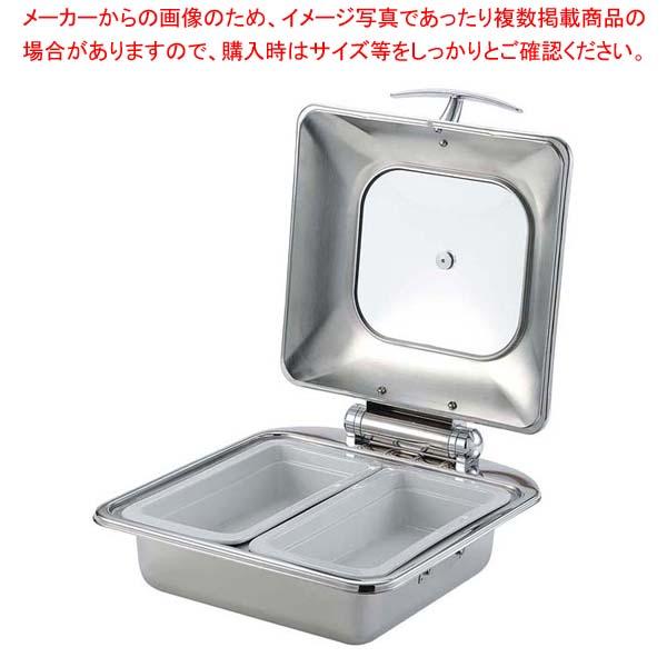 SX チューフィングディッシュ 2/3サイズ ダブル W35120 陶器仕様 【厨房館】ビュッフェ関連