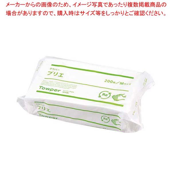 トライフ ペーパータオル タウパープリエM(200枚入×30束) 【厨房館】清掃・衛生用品