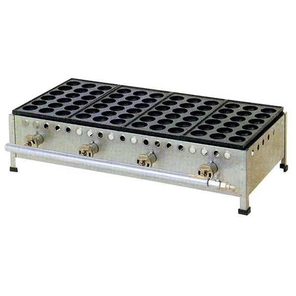 IT ジャンボ たこ焼器 18穴 184S 4連式 6B 【厨房館】お好み焼・たこ焼・鉄板焼関連