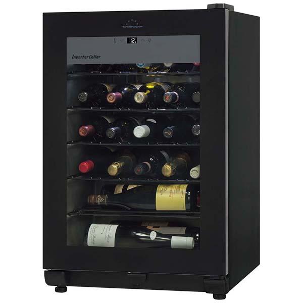 ワインセラー カジュアルプラス(26本収納)FJC-95G(BK) 【厨房館】ワイン・バー用品