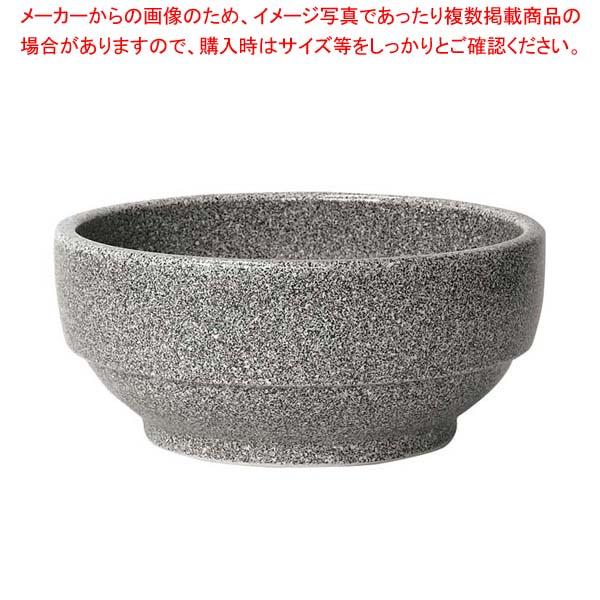 eb-1301010 陶器 スタッキング ビビンバ鍋 19cm 327-0137 厨房館 グレー 新作続 ※アウトレット品 230