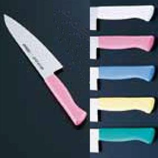 【まとめ買い10個セット品】マイルドカット2000抗菌カラー庖丁 牛刀 21cm MCG-M 【厨房館】