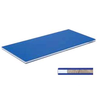【 業務用 】ポリエチレン・ブルーかるがるまな板 800×400×25