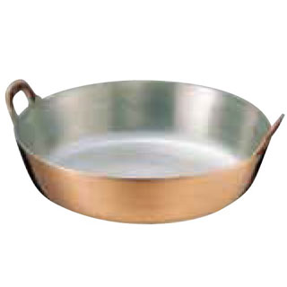 【まとめ買い10個セット品】【 業務用 】SA銅 揚鍋 25cm
