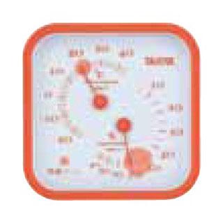 【まとめ買い10個セット品】温湿度計 TT-557 オレンジ 【厨房館】