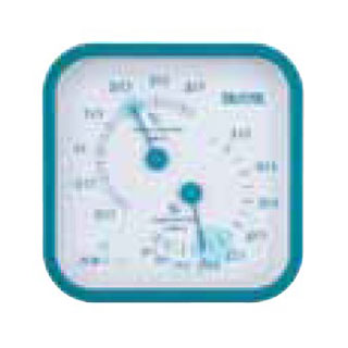 【まとめ買い10個セット品】温湿度計 TT-557 ブルー 【厨房館】