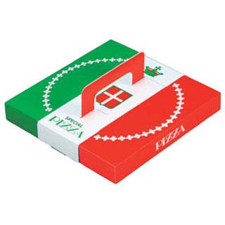 【まとめ買い10個セット品】【 業務用 】紙製ピザボックス[50枚入] 7・8インチ用
