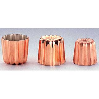 【まとめ買い10個セット品】【 業務用 】銅カヌレ型 ENDO 大