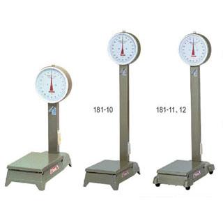 【 業務用 】中型自動台秤[車付] 50kg [D-50MZ]