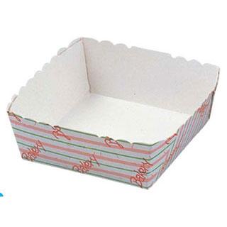 【まとめ買い10個セット品】【 ベーカリートレー正方形[100枚入]WT260-8 水玉 】【 厨房器具 製菓道具 おしゃれ 飲食店 】 【厨房館】