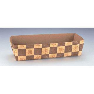 【まとめ買い10個セット品】【 業務用 】ベーキングカップ[茶ブロック柄] CT503