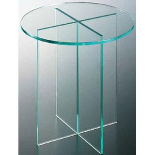 【 業務用 】アクリルディスプレイ丸テーブル 30