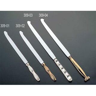 【 業務用 】ウェディングナイフ剣型ゴールド