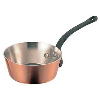 【まとめ買い10個セット品】【 業務用 】銅極厚鍋テーパー鉄柄 21cm