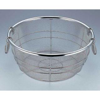 【まとめ買い10個セット品】【 業務用 】段付鍋用揚げザル 33cm