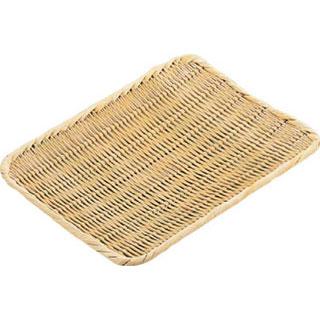 【まとめ買い10個セット品】【 業務用 】竹製角盆ザル 尺2
