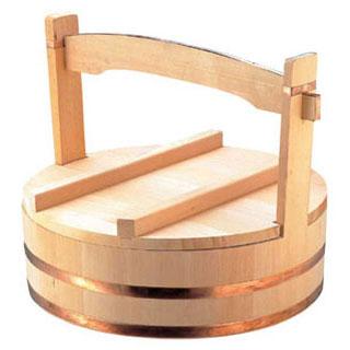 【 出前箱 岡持ち 】木製出前用岡持 54cm 【厨房館】