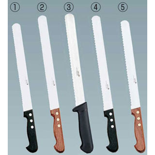 デグロンINOXパン切りナイフ1P柄細目35cm65340-35-C