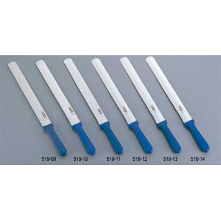 【まとめ買い10個セット品】【 業務用 】サーモ 両刃ナイフ (平刃/波刃) 66144