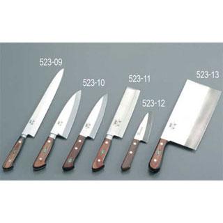 【まとめ買い10個セット品】堺刀司 中華庖丁(ツバ無) 21cm 【厨房館】