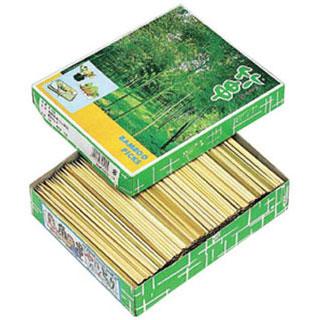 【まとめ買い10個セット品】【 業務用 】竹製 角ヤキトリ串800g 箱詰 13.5cm