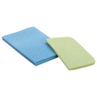 【まとめ買い10個セット品】【 業務用 】水切マット[パルプ繊維] 大ブルー