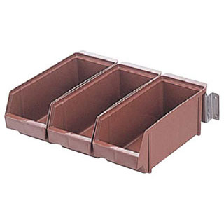 【まとめ買い10個セット品】【 業務用 】オーガナイザー壁掛式 ENDO 4列[ブラウン] ENDO