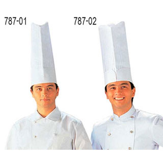 【まとめ買い10個セット品】【 業務用 】エッフェルコック帽No.14 L