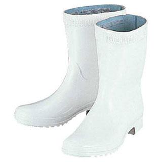 【まとめ買い10個セット品】長靴ハイルクス ホワイト(耐油) 23.5cm 【厨房館】
