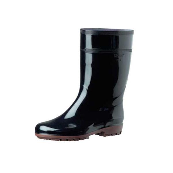 【まとめ買い10個セット品】【 業務用 】ミドリ安全 耐滑 作業長靴ハイグリップHG2000N[白・黒] 24.5cm