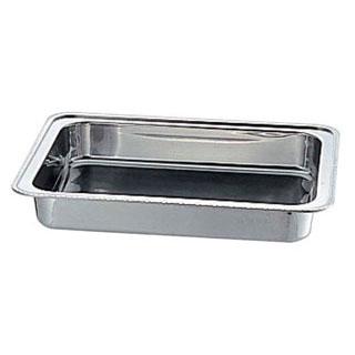 【まとめ買い10個セット品】【 業務用 】18-8ユニット角湯煎ウォーターパンB 20インチ