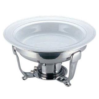 【まとめ買い10個セット品】【 業務用 】丸チューフィング用陶器フードパン 13インチ[ツバ付]
