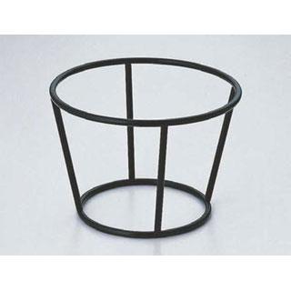 【まとめ買い10個セット品】【 業務用 】SW 陶器丸皿・ボールスタンド黒 16H
