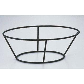【まとめ買い10個セット品】【 業務用 】SW 陶器フィッシュプラター用スタンド黒 16H