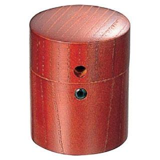 【まとめ買い10個セット品】【 業務用 】木製筒型さんしょう入れ