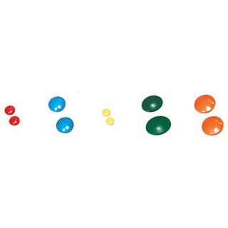 【まとめ買い10個セット品】【 業務用 】カラーマグネット[20ヶ入] Q-M40 青