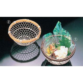 【まとめ買い10個セット品】【 業務用 】銀彩亀甲篭 [2]晒竹