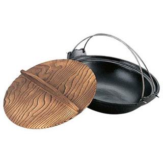【まとめ買い10個セット品】【 業務用 】アルミ吊付寄せ鍋[黒] 30cm