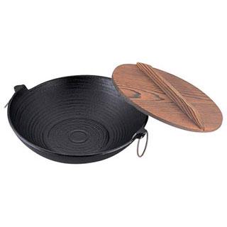 【まとめ買い10個セット品】【 業務用 】アルミみそ煮込みうどん鍋