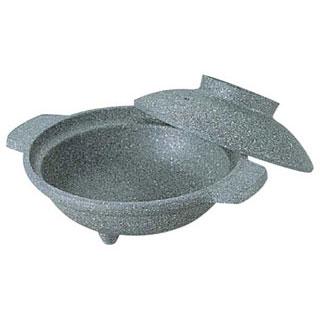 【まとめ買い10個セット品】【 業務用 】アルミ寄せ鍋 石目 16cm