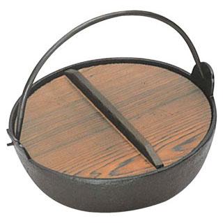 【まとめ買い10個セット品】【 業務用 】いろり鍋 黒ぬり 24cm