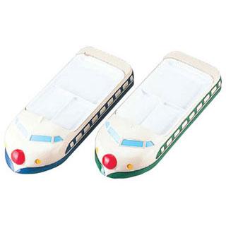 【まとめ買い10個セット品】【 業務用 】お子様ランチ皿 新幹線 ブルー
