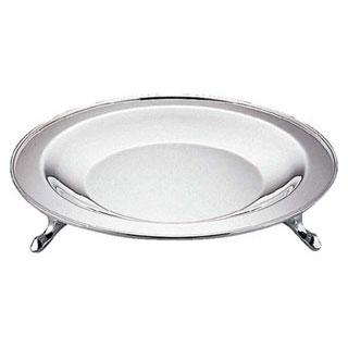 【まとめ買い10個セット品】【 業務用 】18-8丸皿スタンド[ユキワデザイン] 13インチ