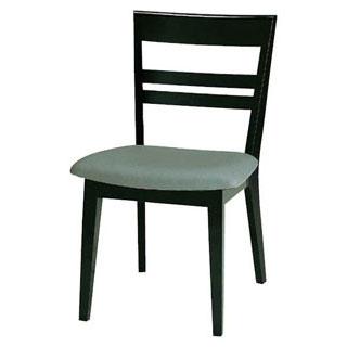【 業務用 】椅子 高級鏡面塗 黒 9-131-4